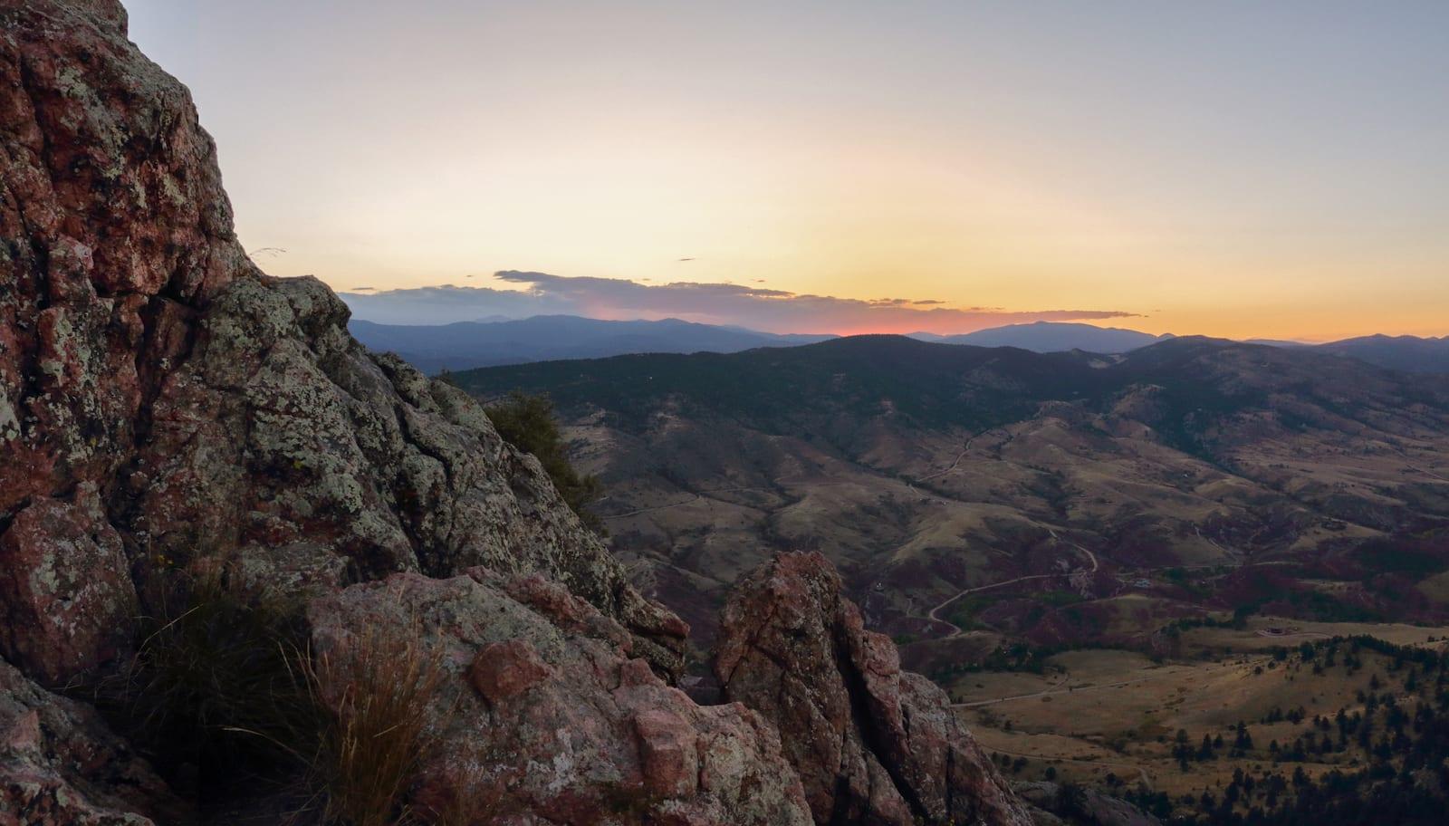 Horsetooth Mountain, CO