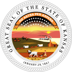 The Great Seal of the State of Kansas