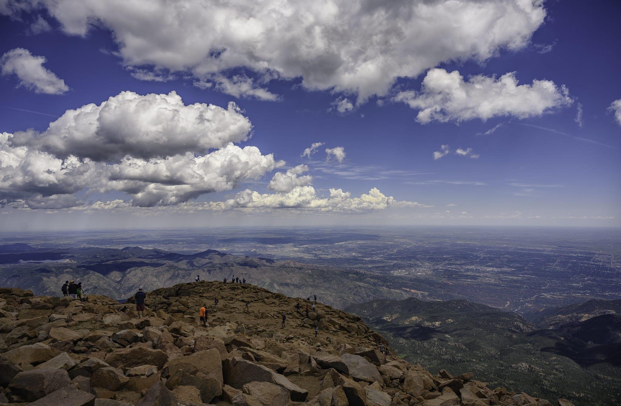 views from Pikes Peak