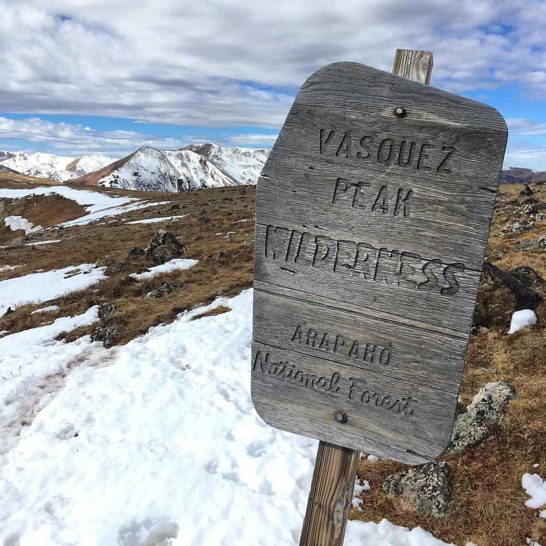 Vasquez Peak Wilderness, CO