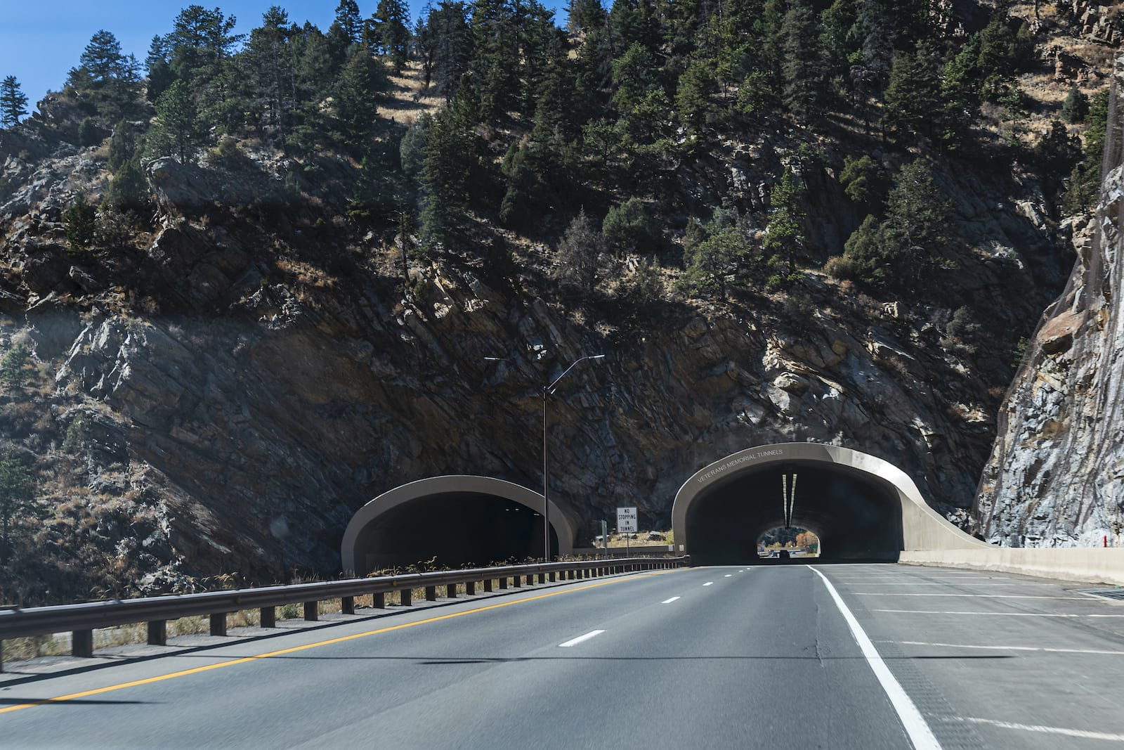 Veterans Memorial Tunnels Colorado