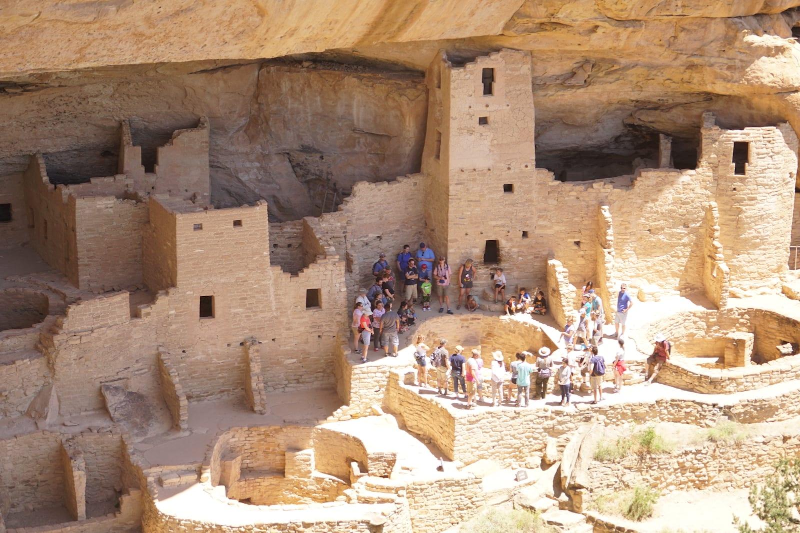 Ancient Puebloans Colorado Mesa Verde Cliff Palace