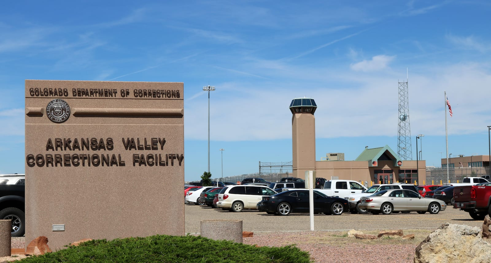 Arkansas Valley Correctional Facility Ordway Colorado