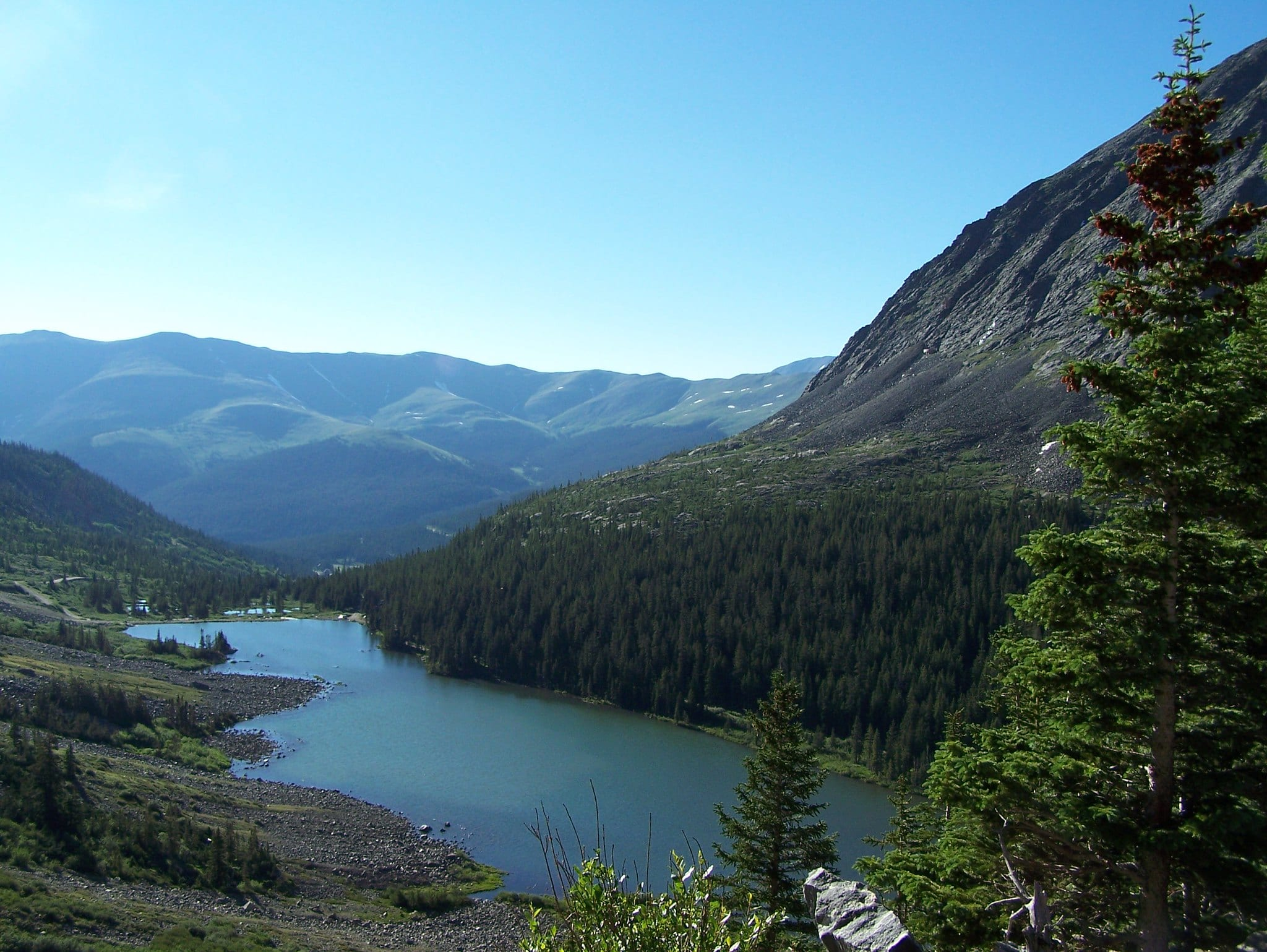 blue lakes trail breckenridge