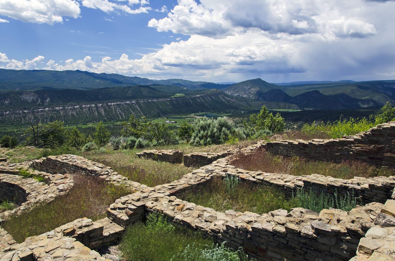 Ancient Puebloans Colorado Chimney Rock Archaeological Area
