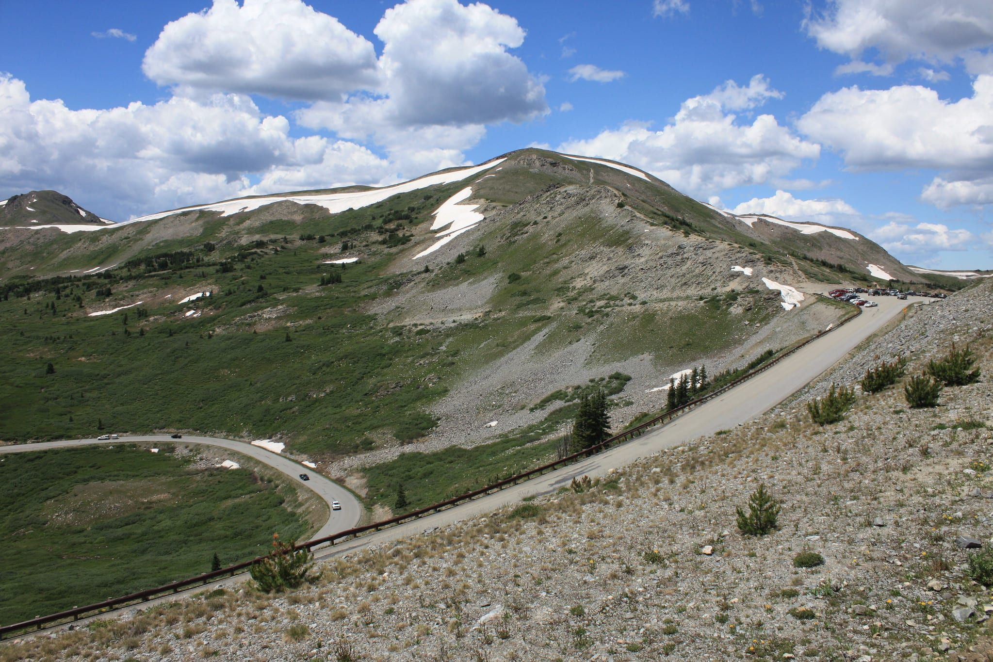 cottonwood pass continental divide