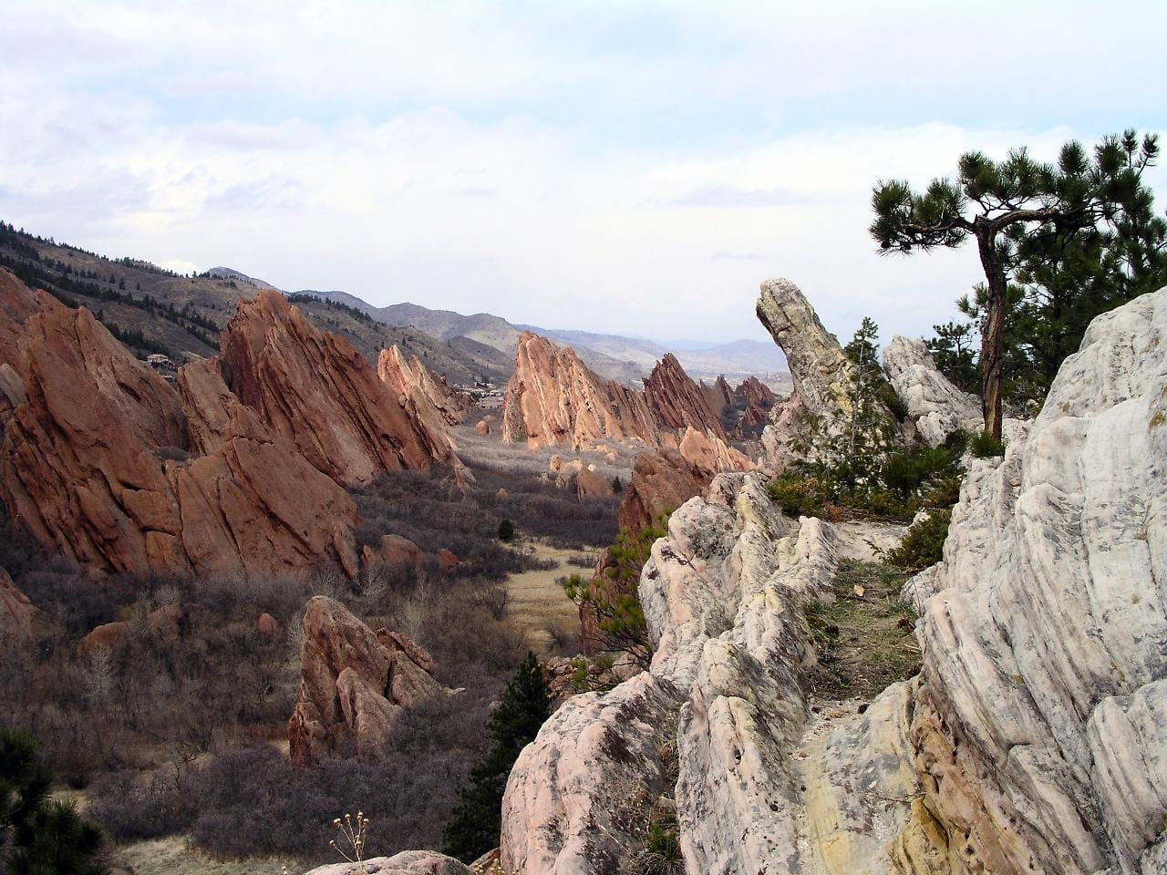 Fountain Formation Sandstones Roxborough State Park Colorado