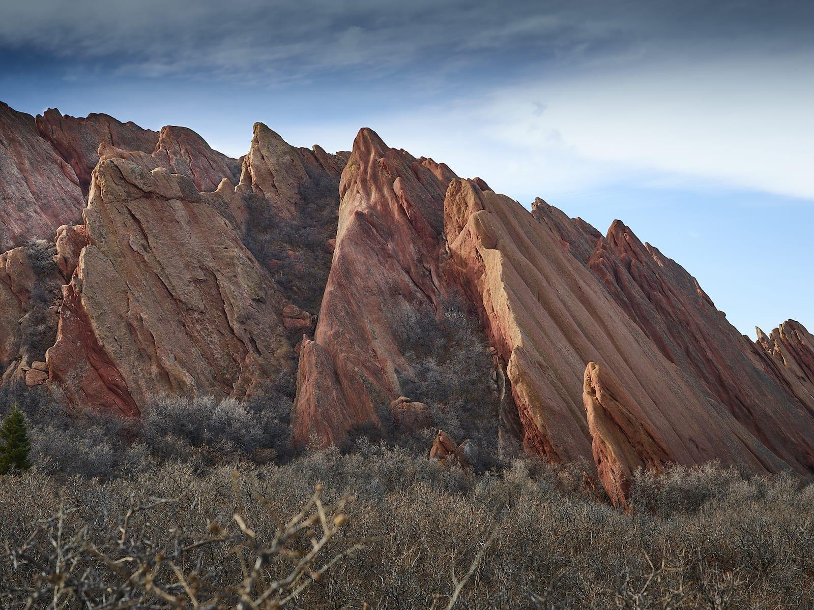 Fountain Formation Roxborough State Park Colorado Red Sandstones
