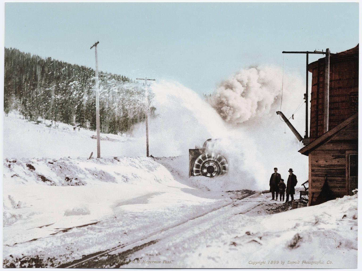 Hagerman Pass Train 1899