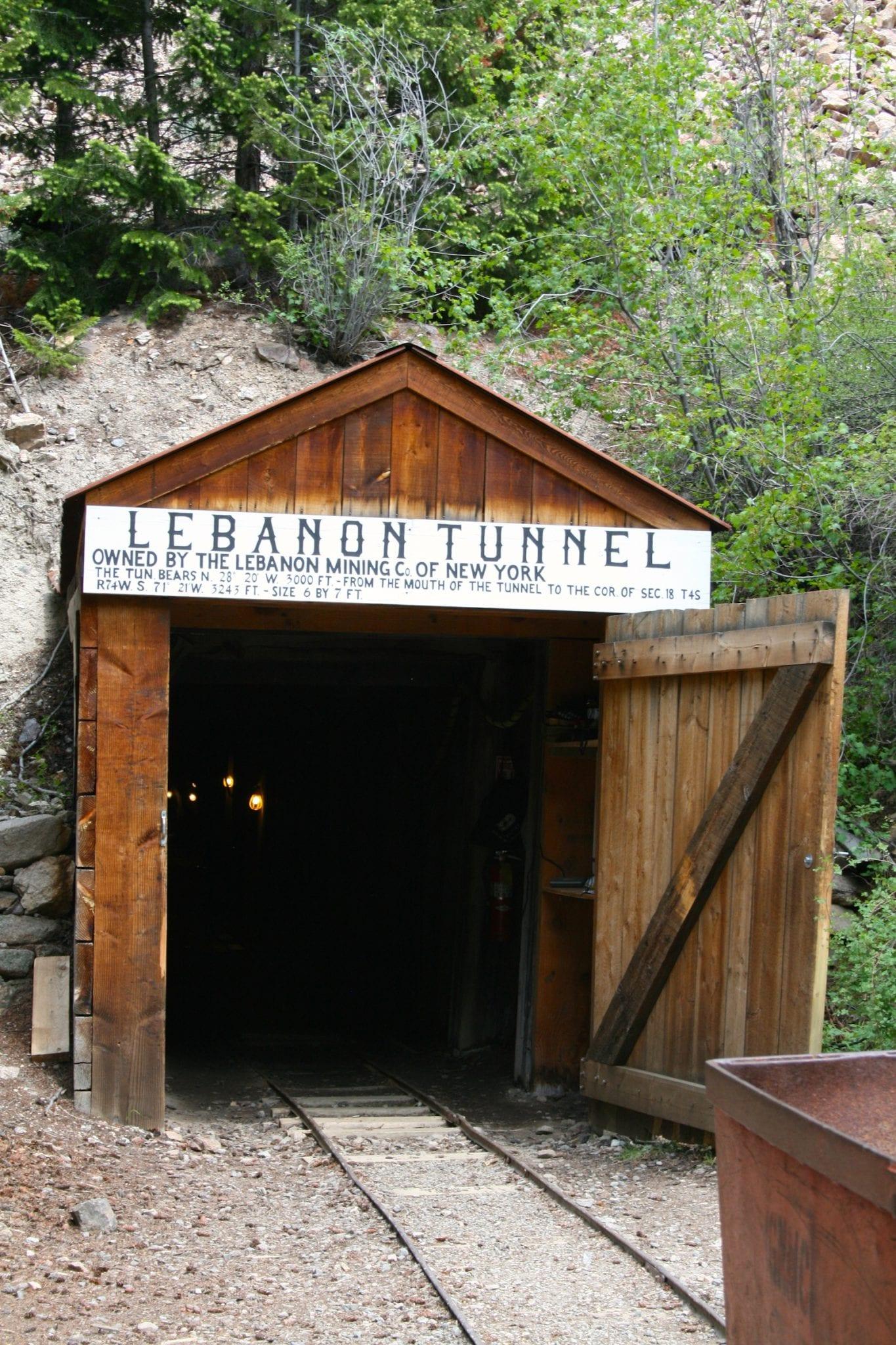 Lebanon Tunnel Silver Plume Colorado