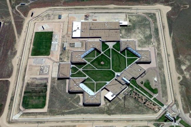Limon Correctional Facility Colorado Aerial View