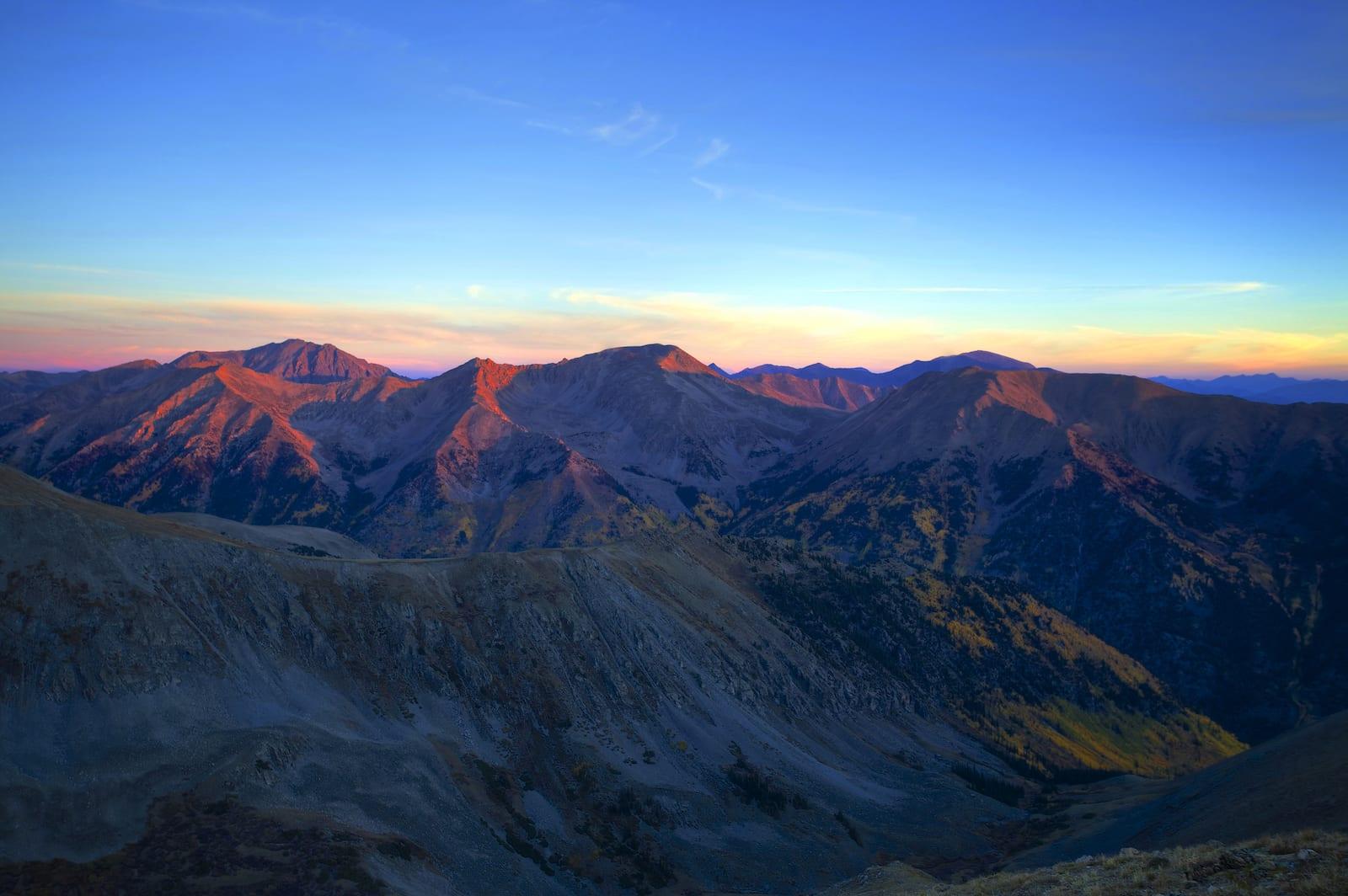 Mt Belford Colorado 14er Sunrise Hike