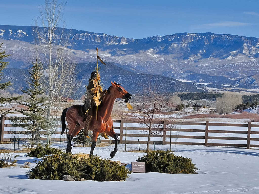 Native American Sculpture Ridgway CO