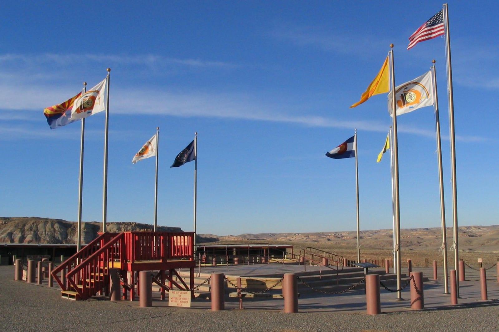 Navajo Nation Four Corners Monument Colorado