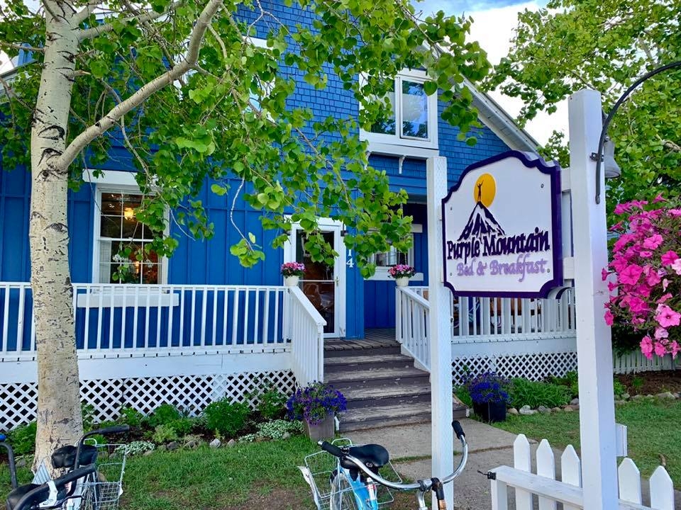 purple mountain bed and breakfast crested butte