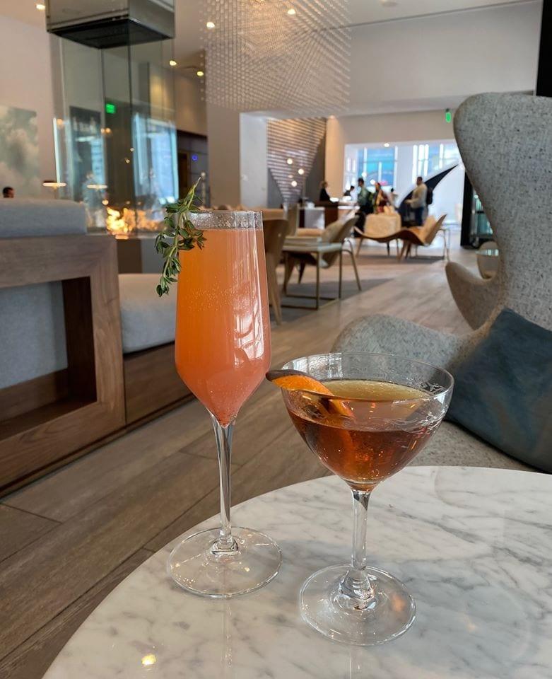 cocktails at the lobbyist le meridian denver