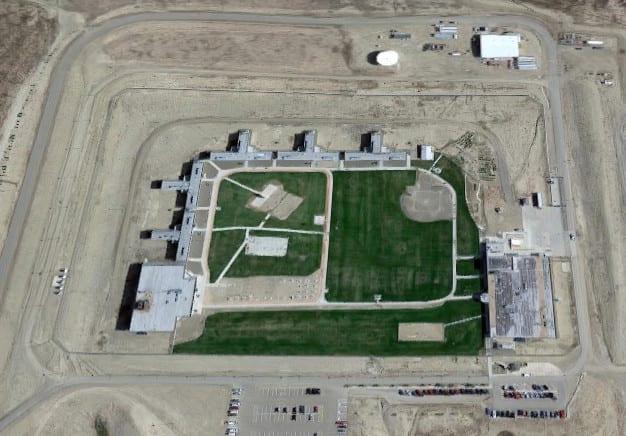 Trinidad Correctional Facility Colorado Aerial View