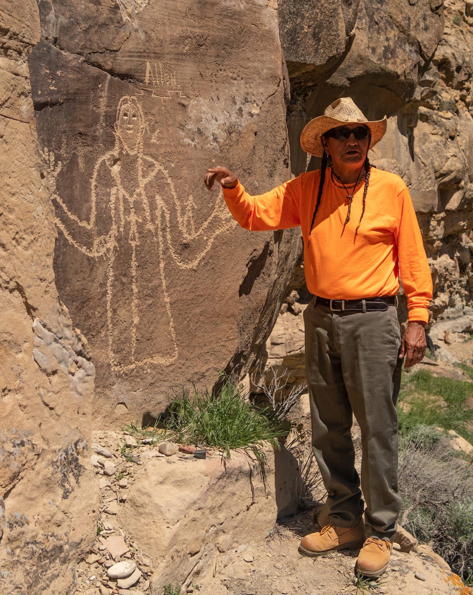 Ute Mountain Tribal Park Guide Ricky Colorado