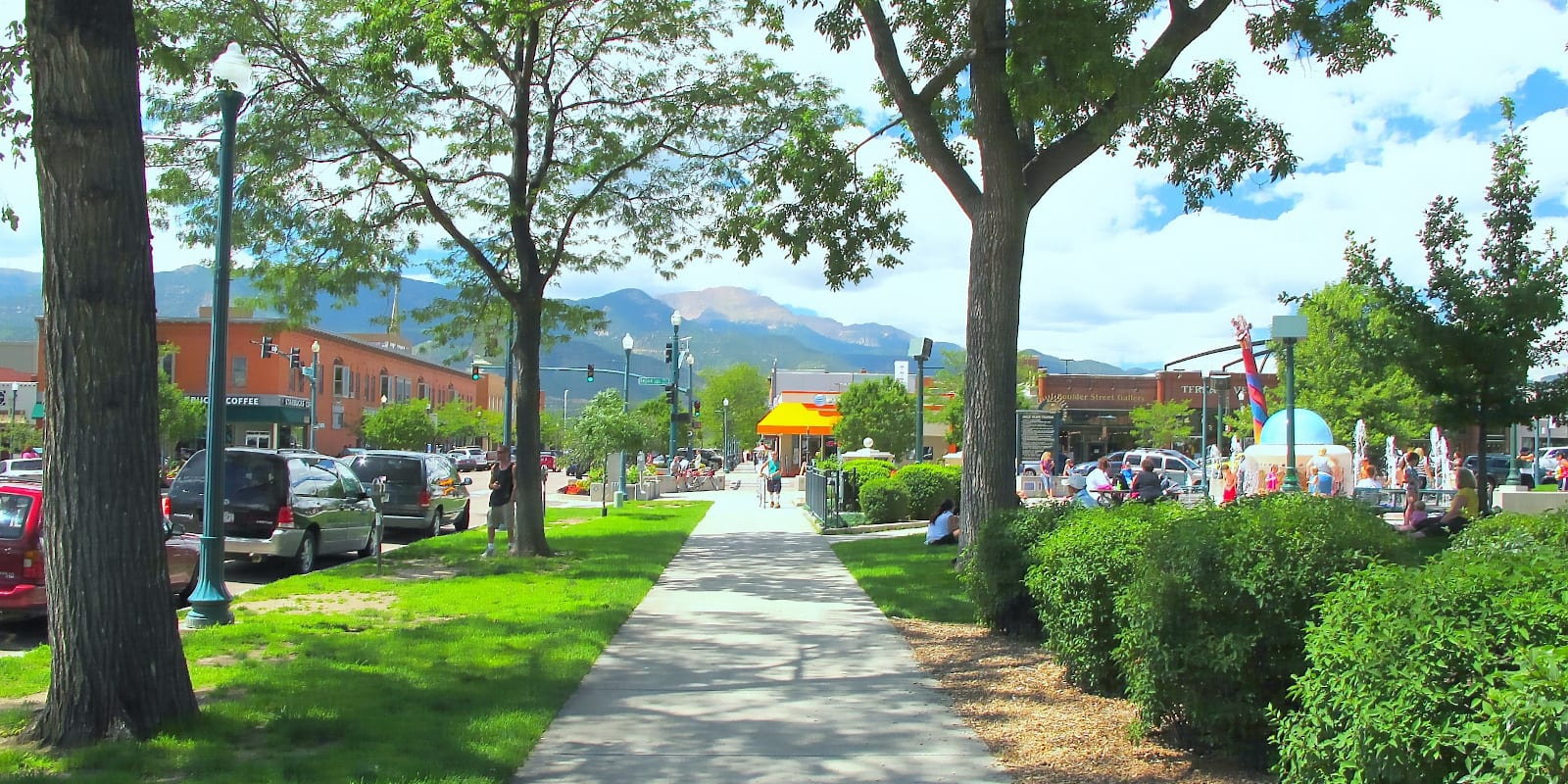 Acacia Park in Colorado Springs