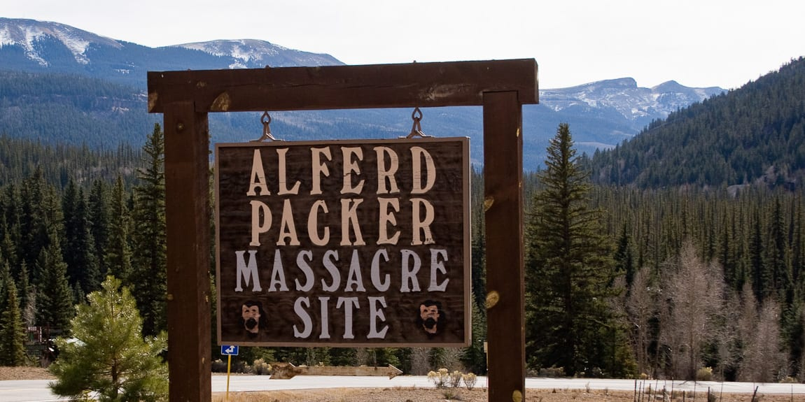 Alferd Packer Massacre Site in Lake City, CO