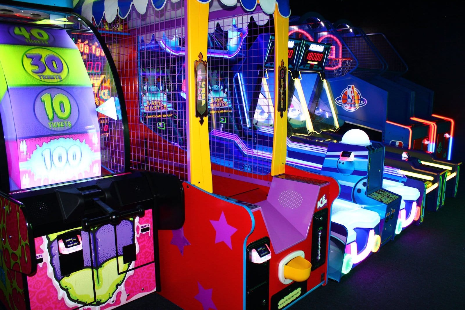 Arcade in Monster Mini Golf, CO