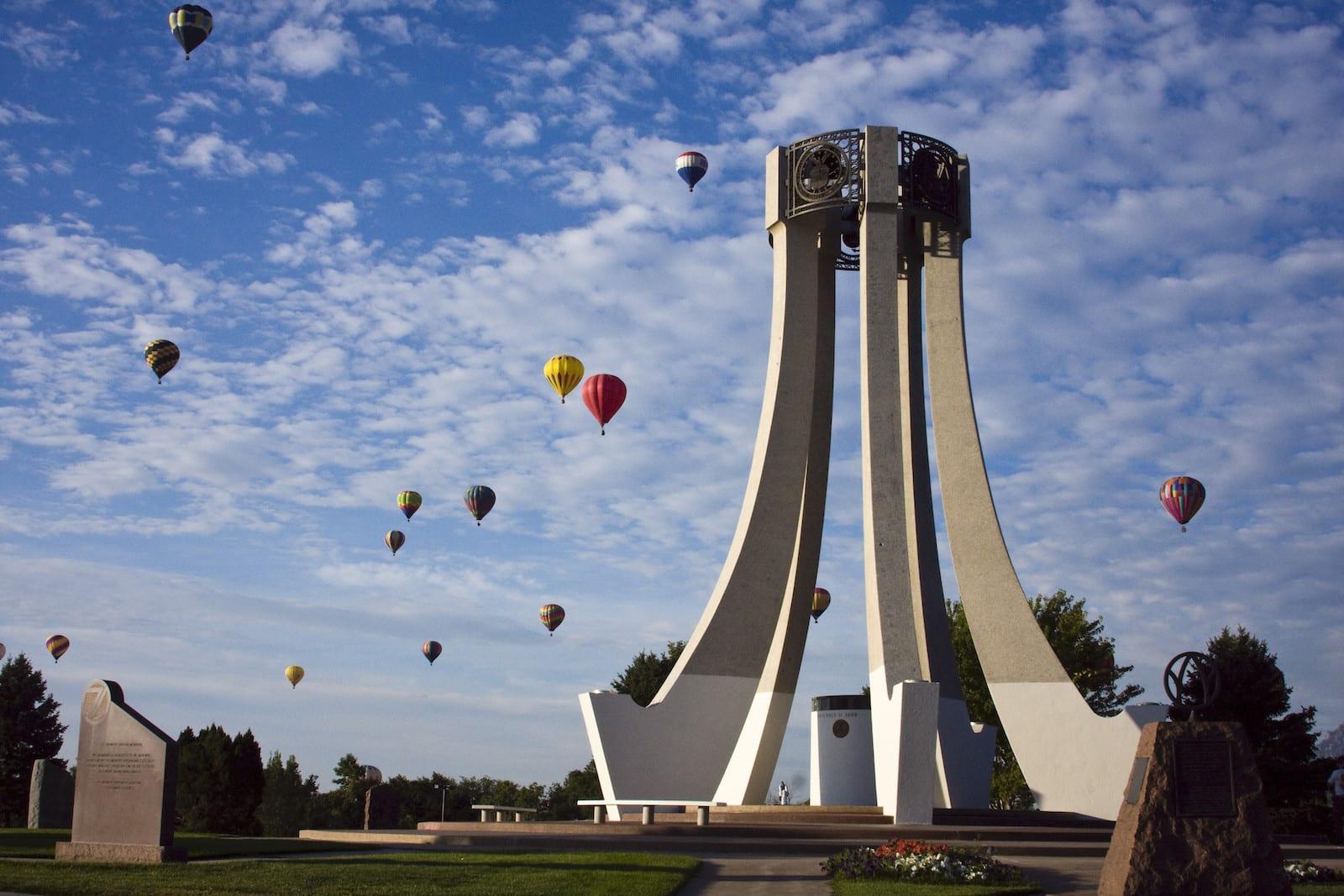 Balloon Classic in Memorial Park, Colorado Springs