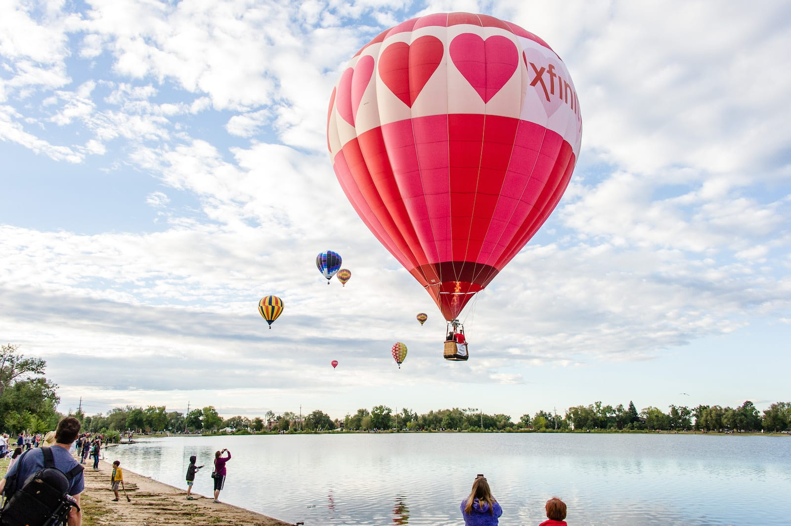 Balloon Classic in Memorial Park, Colorado Springs