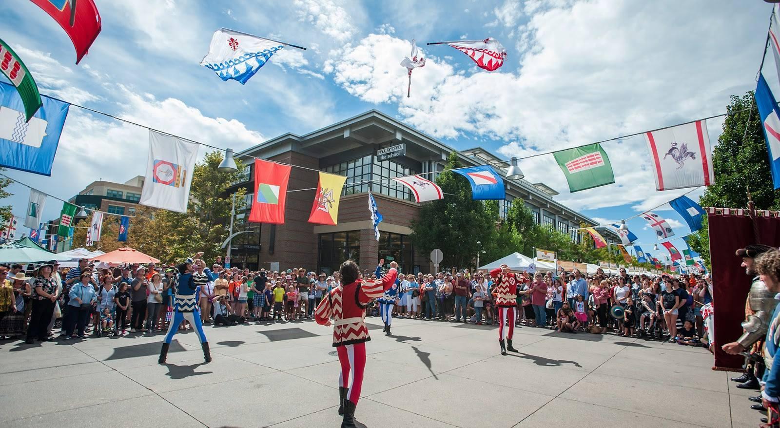 Festival Italiano at Belmar in Lakewood, CO