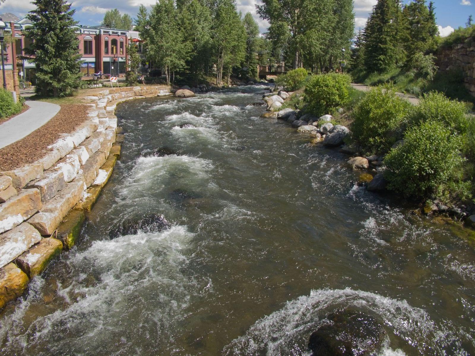 Blue River Breckenridge, Colorado