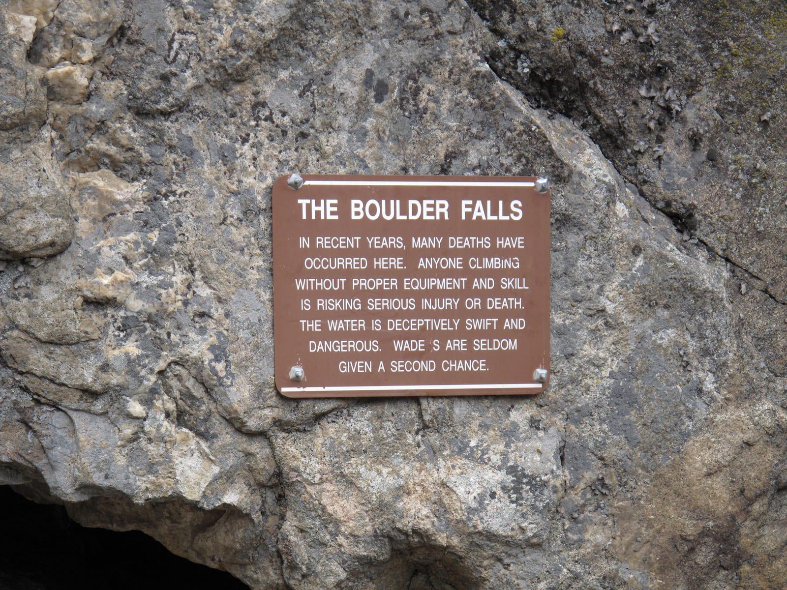 Boulder Falls in Boulder, CO