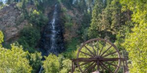 Bridal Veil Falls & Charlie Tayler Water Wheel, CO