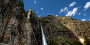 Telluride Waterfalls Bear Creek Falls, CO