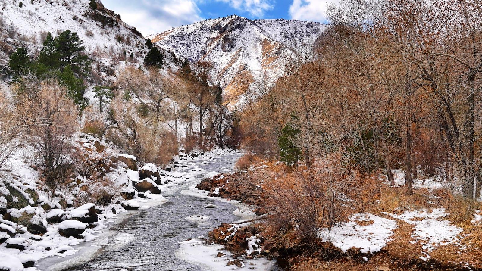 Clear Creek in Golden, CO