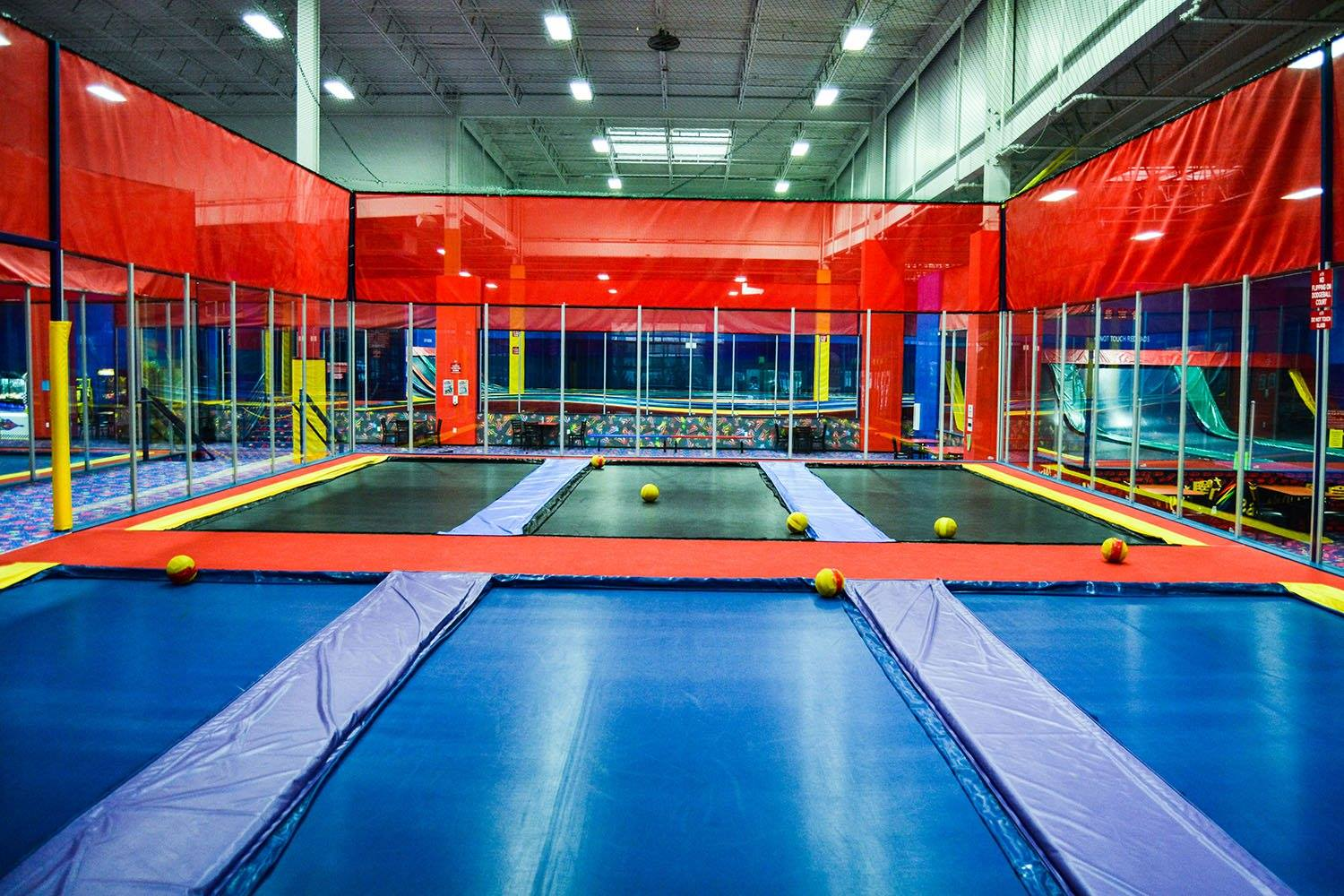 Jumpstreet Indoor Trampoline Park at Colorado Mills Mall in Lakewood