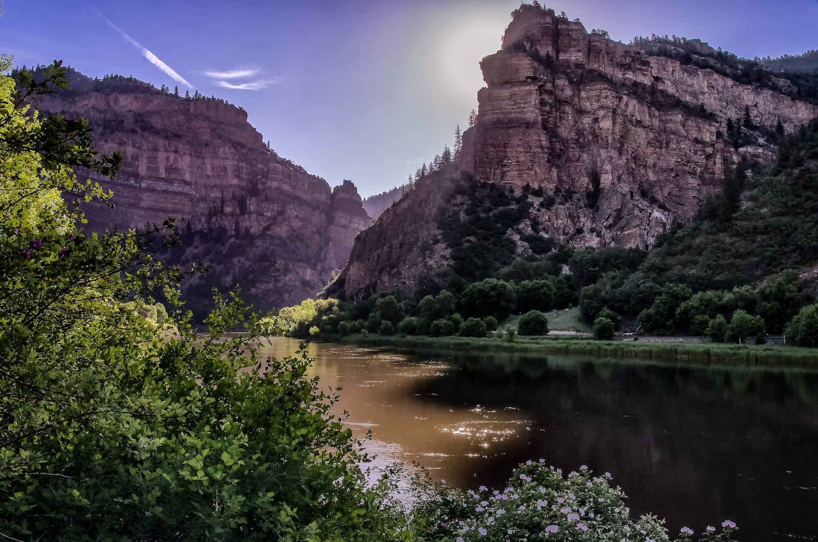 Colorado River near hanging lake entrance, CO