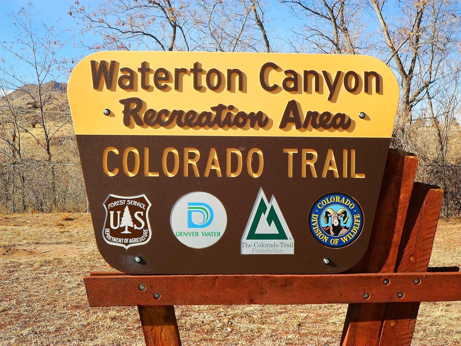 Waterton Canyon Recreation Area, CO