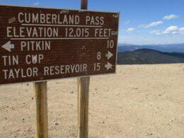 Cumberland Pass, CO