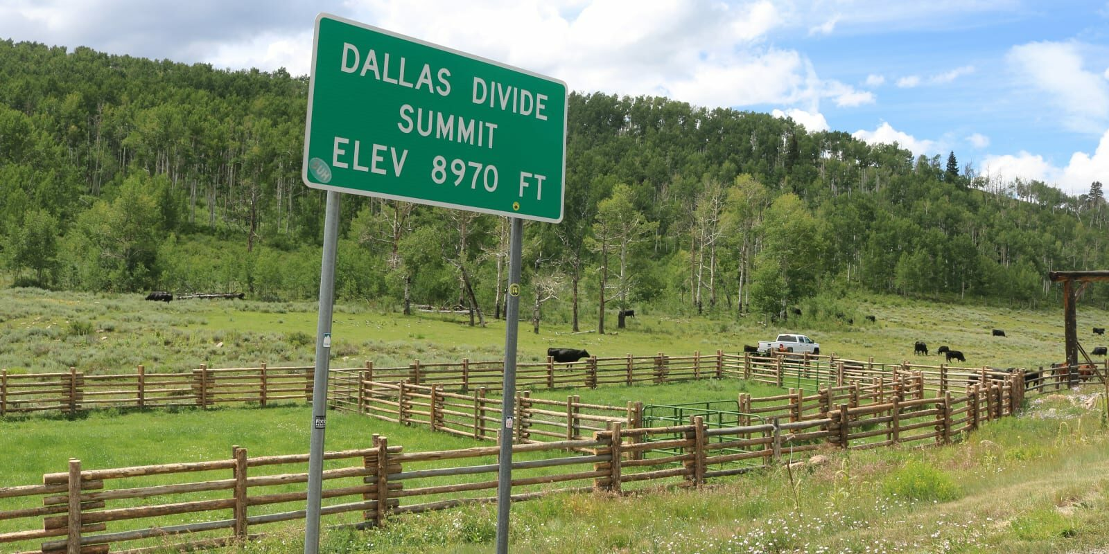 Dallas Divide, CO