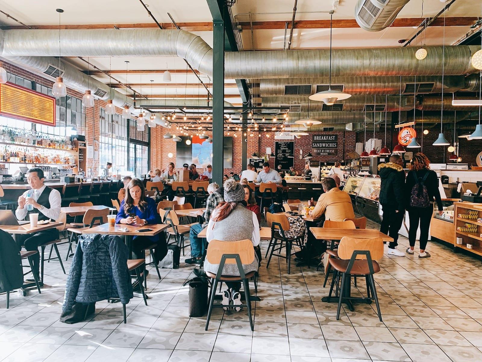 Inside Denver Central Market, CO