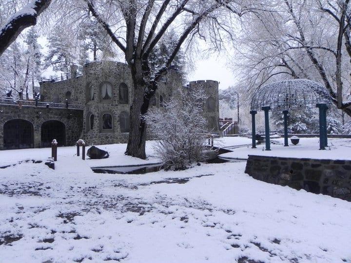 Dunafon Castle in Idledale, CO