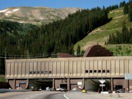 Eisenhower Tunnel, CO
