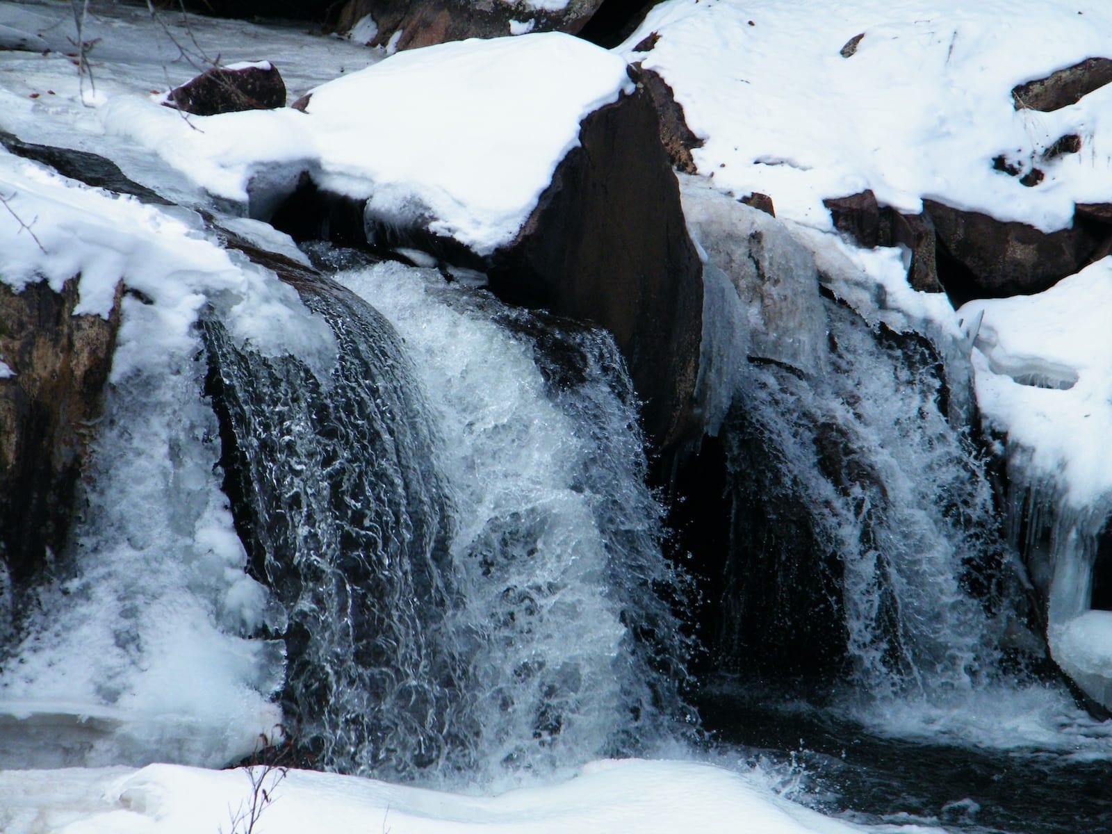Eldorado Falls in Boulder, CO