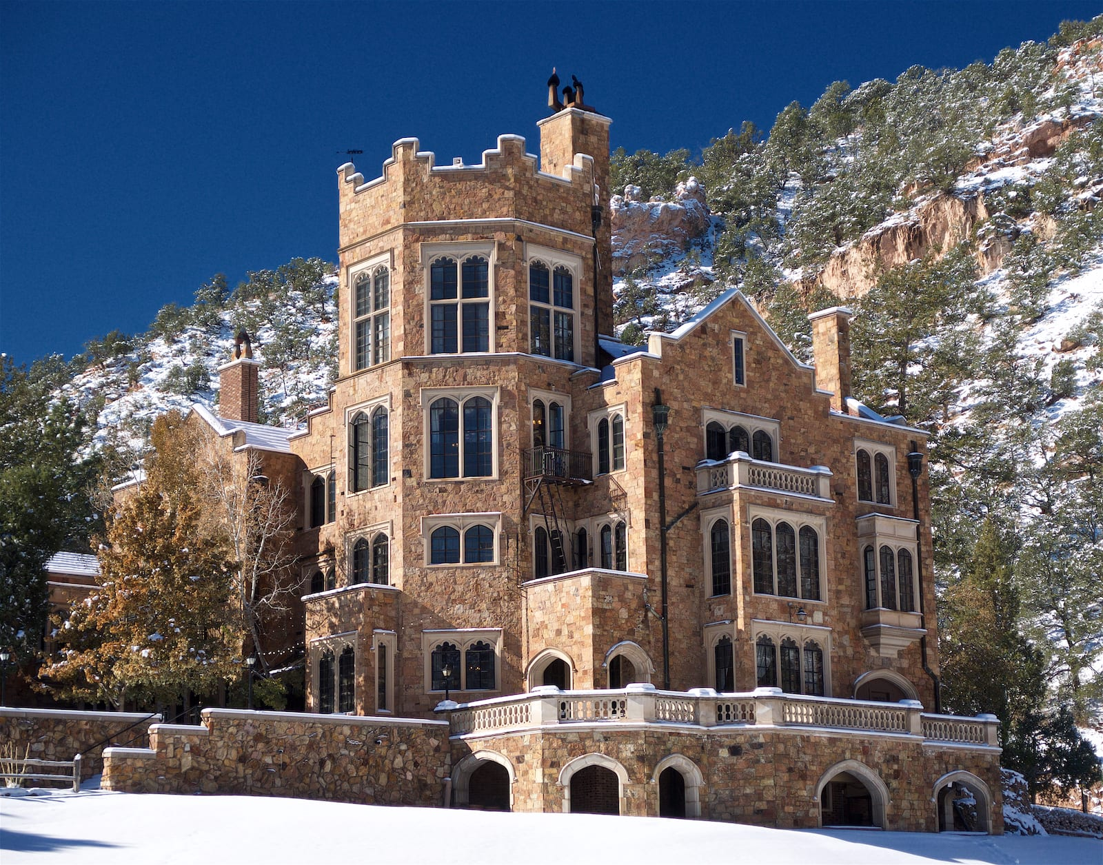 Glen Eyrie Castle in Colorado Springs