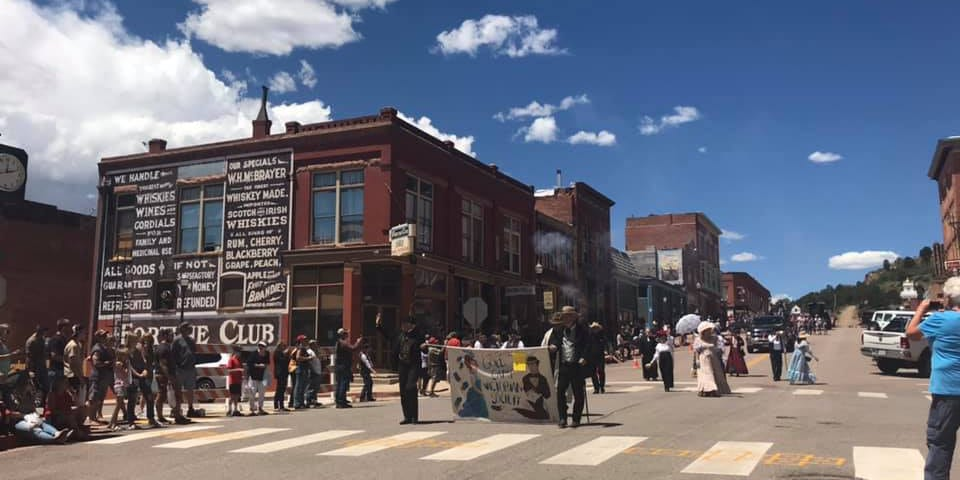 Gold Rush Days in Victor, CO