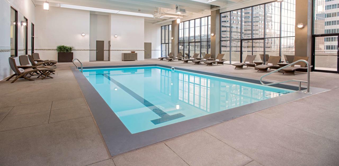 Swimming pool at Grand Hyatt Denver, Co