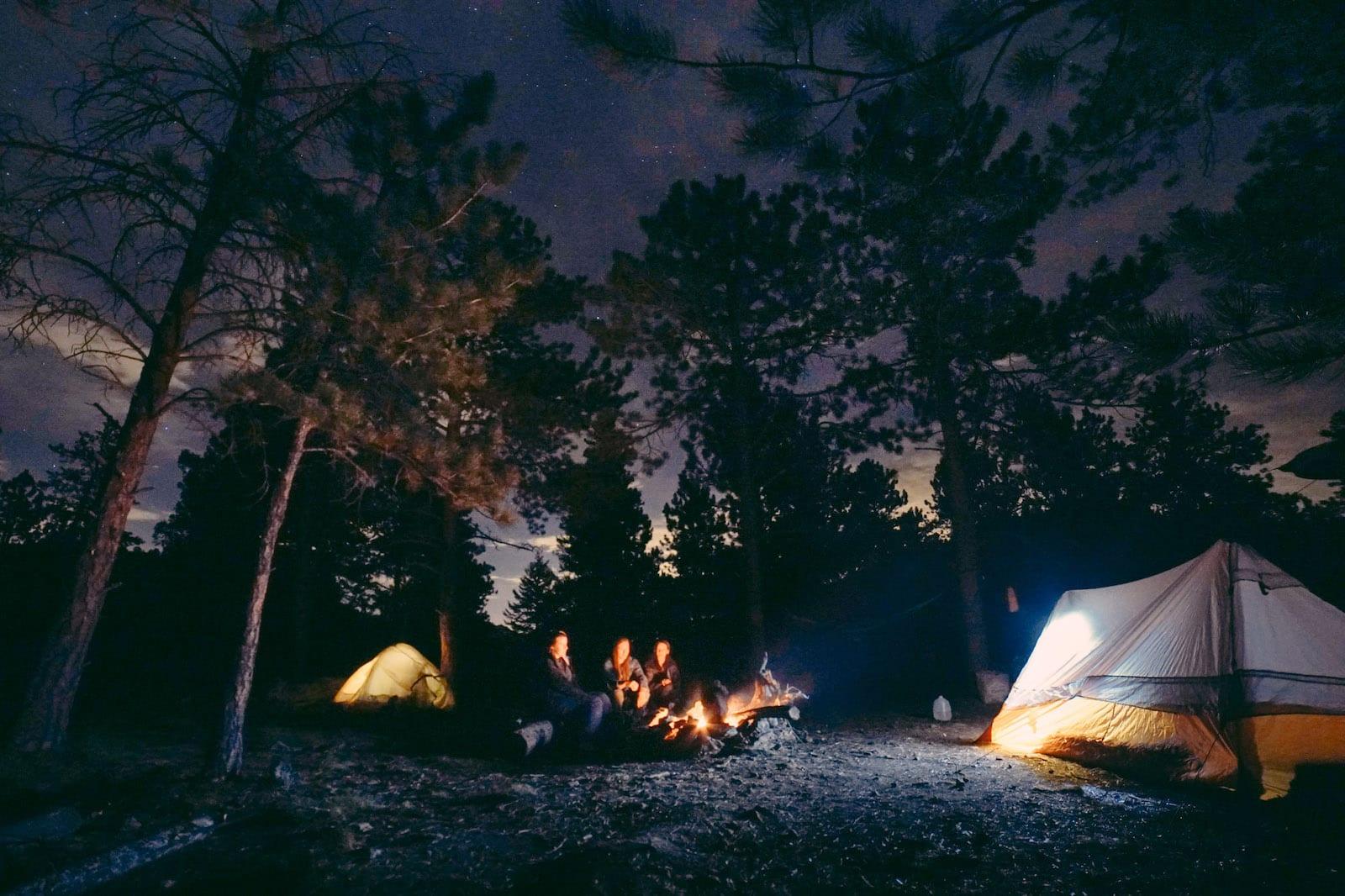 Gross Reservoir camping, CO