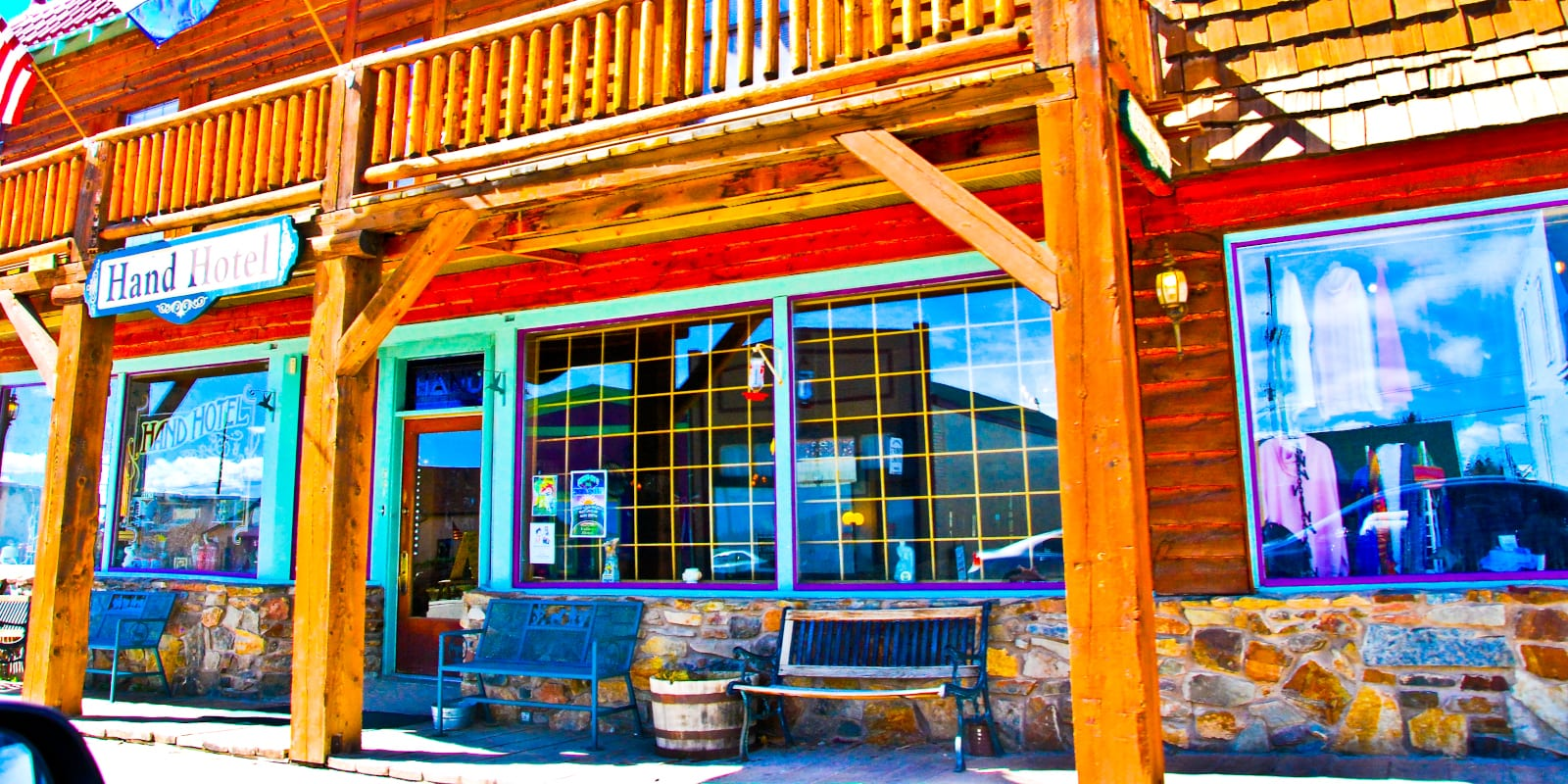Hand Hotel Bed & Breakfast in Fairplay, Colorado