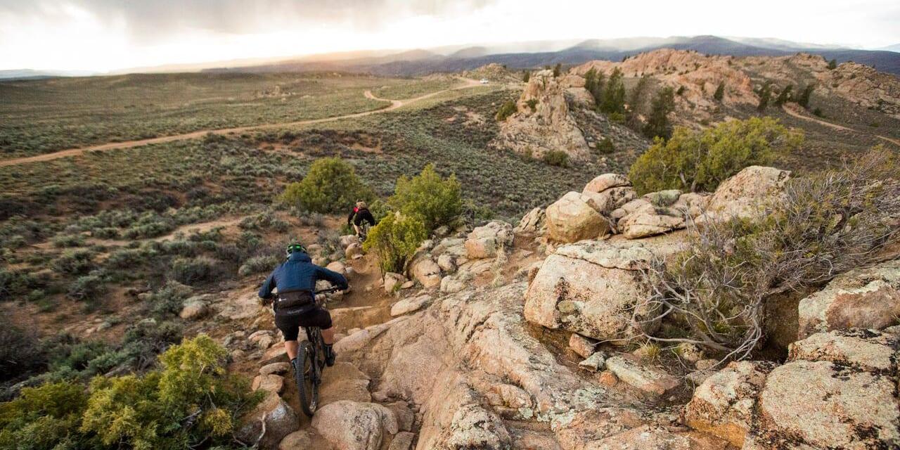 Hartman Rocks Trails in Colorado