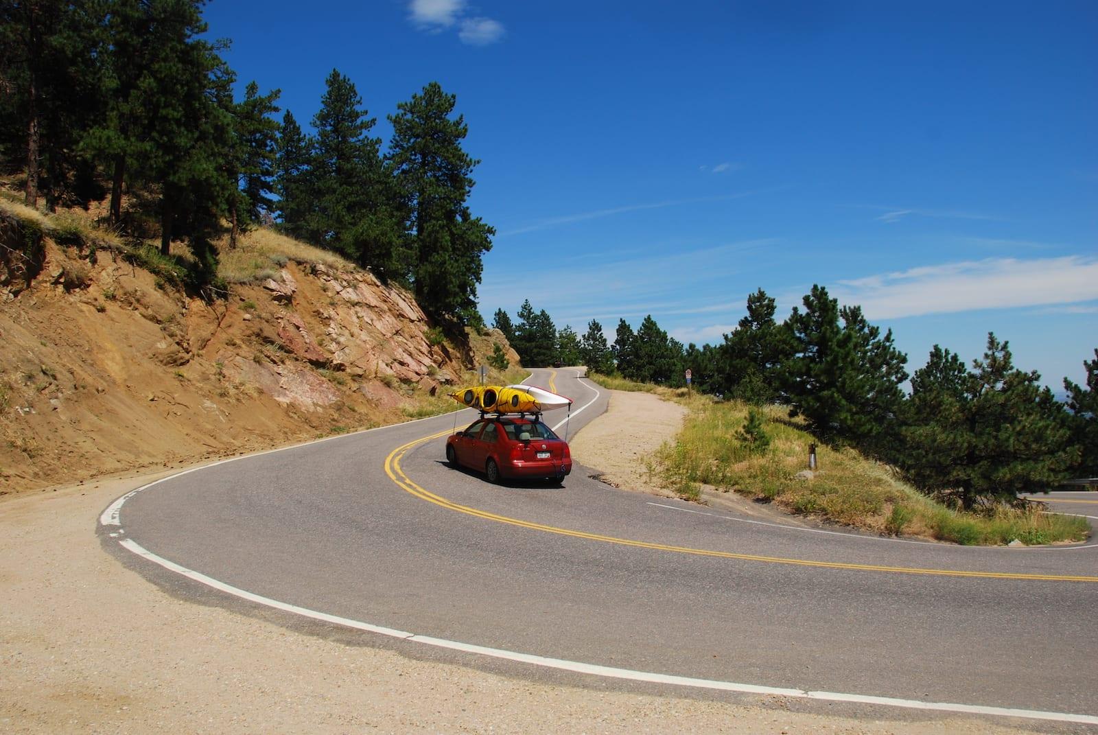 Headed to Gross Reservoir, CO