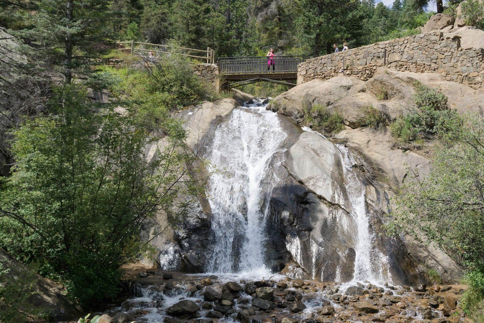 Helen Hunt Falls in Colorado Springs, Colorado